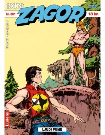 ZAGOR EXTRA 301: Ljudi Pume