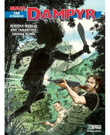 DAMPYR MAXI 3: Afrička magija - Noć tarantule - Crvena plima