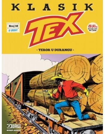 TEX KLASIK 10: Teror u Durangu
