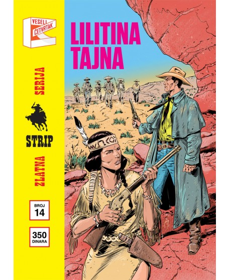 ZLATNA SERIJA 14 (retro cover)