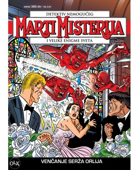 MARTI MISTERIJA 52: Venčanje Serža Orlija