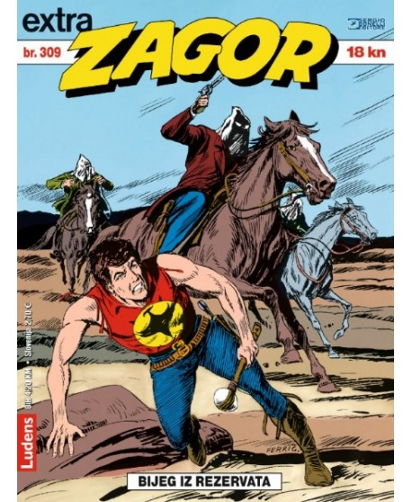 ZAGOR EXTRA 309: Bijeg iz rezervata