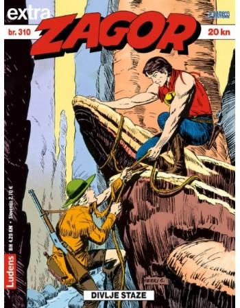 ZAGOR EXTRA 310: Divlje staze