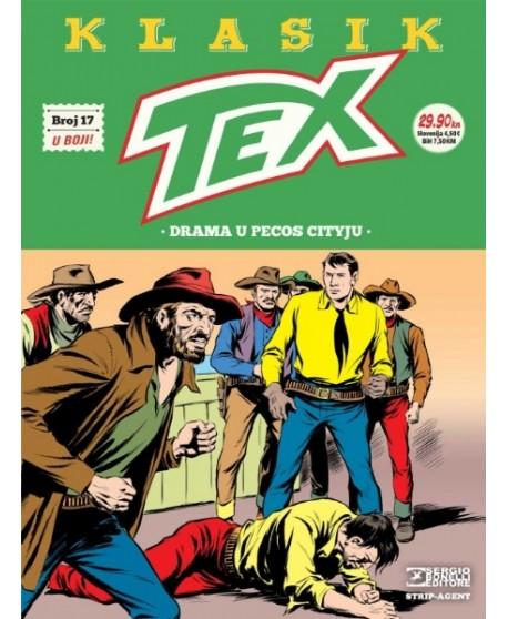 TEX KLASIK 17 : Drama u Pecos Cityju