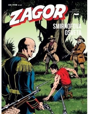 ZAGOR 160 : Smirnofova osveta