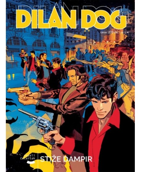 DILAN DOG 162 : Stiže Dampir ( naslovnica A )