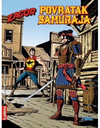 ZAGOR 303 : Povratak samuraja