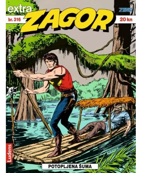 ZAGOR EXTRA 316 : Potopljena šuma