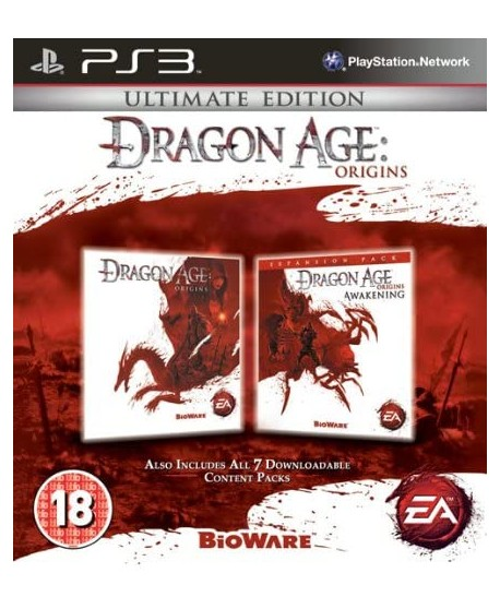 DRAGON AGE ORIGINS COLLECTORS EDITION PS3