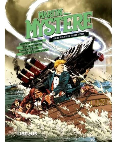MARTIN MYSTERE KOLOR 2 : Vremenski brodolomac / Tajna Mamuthonesa / Frankenstein 2020. / Čovjek koji je umro dvaput