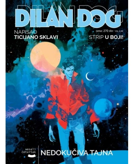 DYLAN DOG 166: Nedokučiva tajna