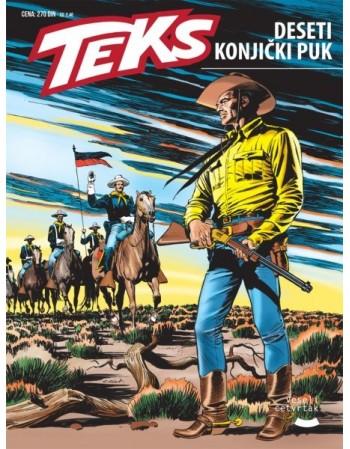 TEX 70: Deseti konjički puk