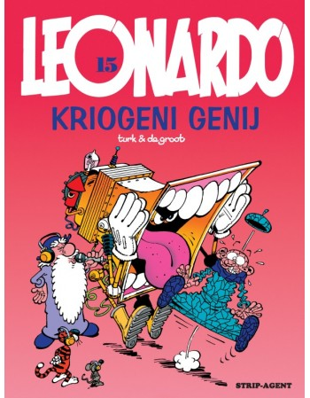 LEONARDO 15 : Kriogeni genij