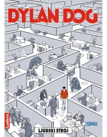 DYLAN DOG 183 : Ljudski stroj