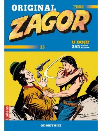 ZAGOR ORIGINAL 13 : Odmetnici