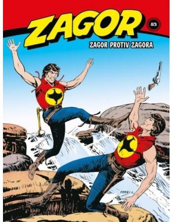 ZAGOR 83 : Zagor protiv Zagora