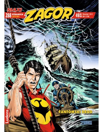 ZAGOR MAXI 42 : Fantomski brod