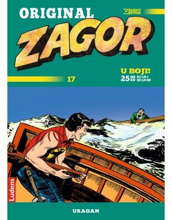 ZAGOR ORIGINAL 17 : Uragan