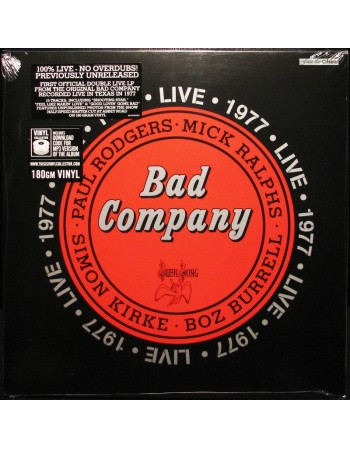 BAD COMPANY: Live 1977