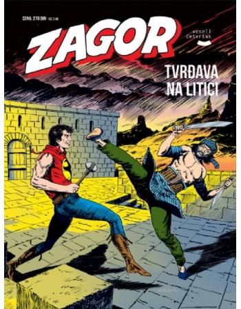 ZAGOR 130: Tvrđava na litici