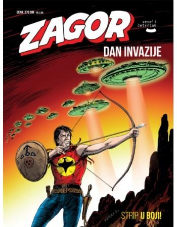 ZAGOR 132: Dani invazije